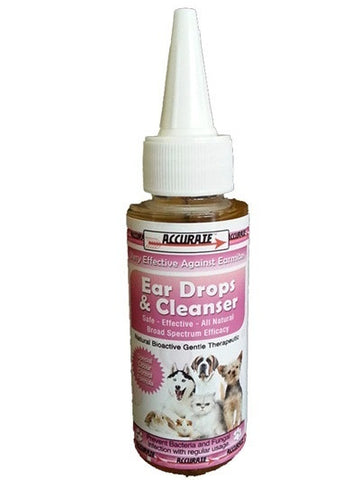 Accurate Ear Drops and Cleanser
