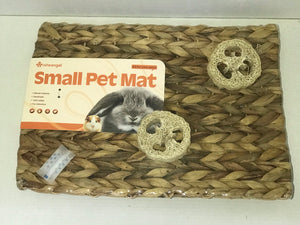 Niteangel Small Pet Mat - Hyacinth with Loofa
