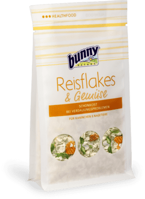Bunny Nature Rice Flakes & Vegetables