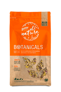 Bunny Nature Botanicals Mid Mix Daisies & Red Clover Flowers (120g)