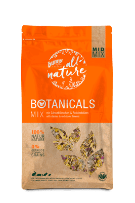 Bunny Nature Botanicals Mid-Mix Daisies & Red Clover Flowers