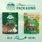Oxbow Organic Rewards Barley Biscuits (75g)