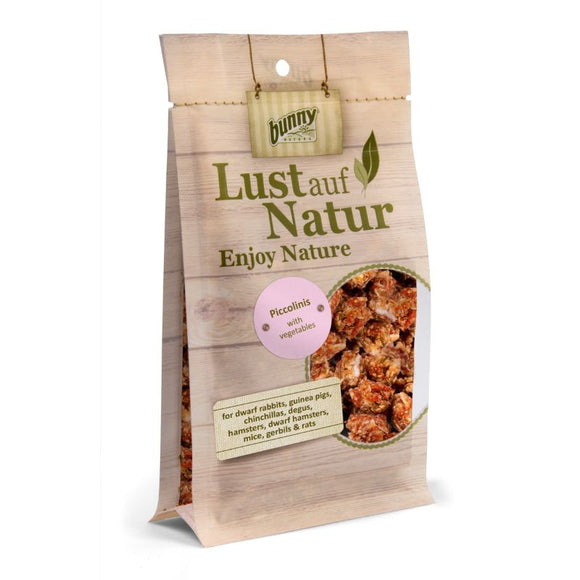 Bunny Nature Lust auf Natur Piccolinis with Vegetables (90g)