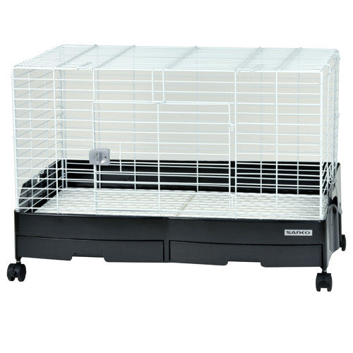 Wild Sanko Lilliphut Friend Cage 80 (Black/White)