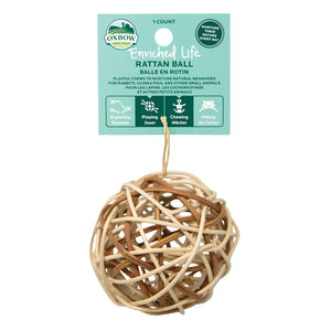 Oxbow Enriched Life Rattan Ball