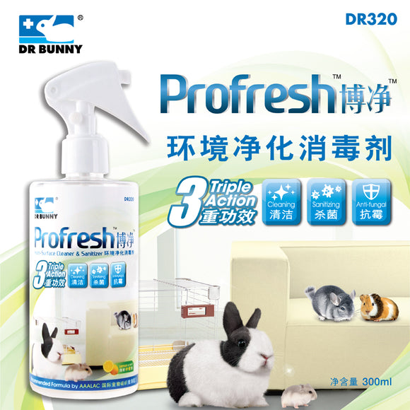 Dr Bunny Profresh Multi Surface Cleaner & Sanitizer (300ml)