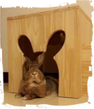 Rabbit Slave Carpentry Wooden Stool
