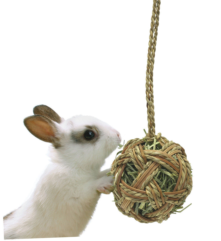 Marukan Hanging Rattan Hay Ball – MR263
