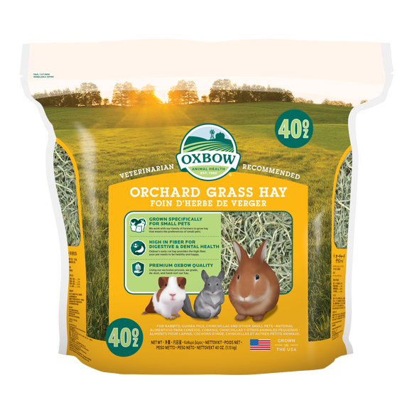 Oxbow Orchard Grass Hay (40oz)