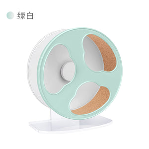 Niteangel Cloud Hamster Wheel (White Peppermint, 22.5cm diameter)