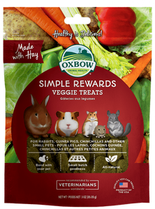 Oxbow Simple Rewards Veggie Treats (3oz)