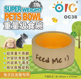 OIC Ceramic Bowl for Rabbit
