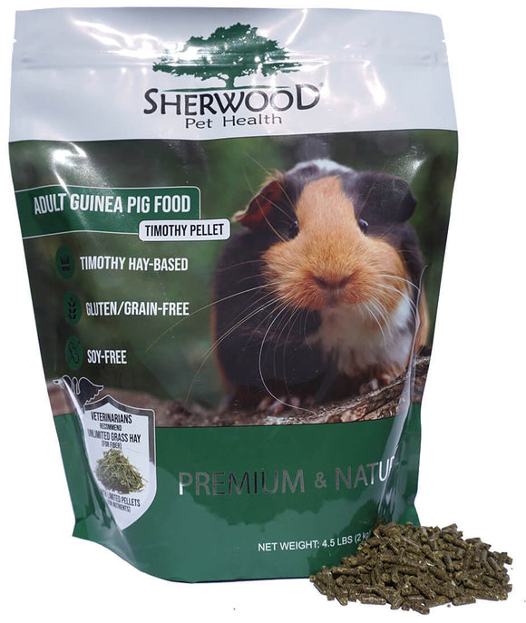 Sherwood Adult Guinea Pig Food Timothy Pellet (2kg)
