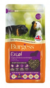 Burgess Excel Nuggets with Oregano and Blackcurrant For Guinea Pig (2kg)