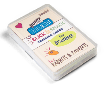 Bunny Nature Interactive Click & Snack Training Cards