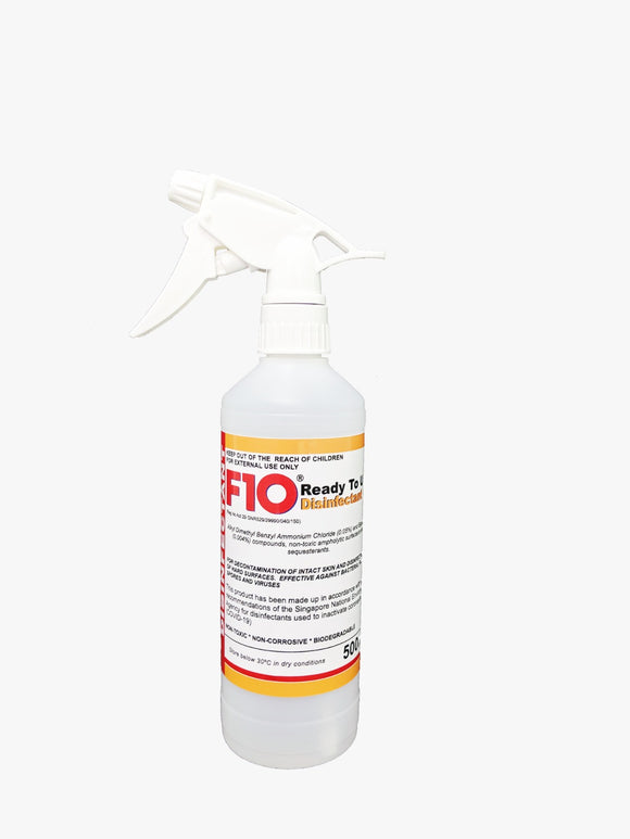 F10 Ready-To-Use Disinfectant (500ml)