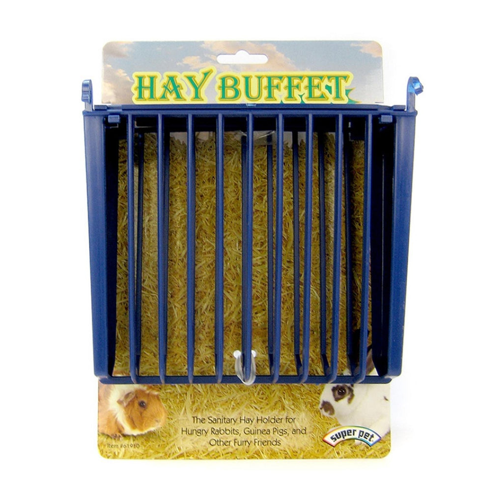 Super Pet Hay Buffet Rack With Snap And Lock Lid
