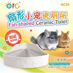 OIC Fan-shaped Ceramic Toilet