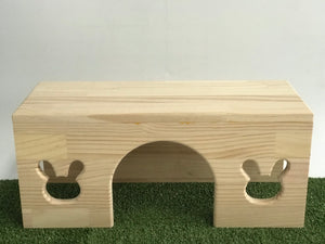 Rabbit Slave Carpentry Wooden Tunnel