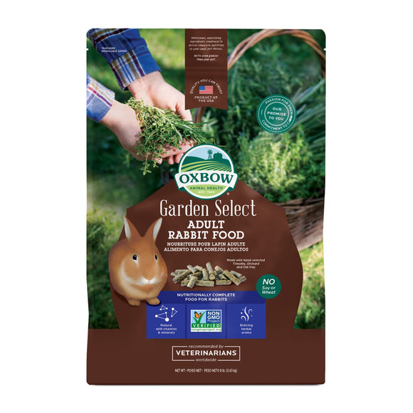 Oxbow Garden Select Adult Rabbit Food (8lb)