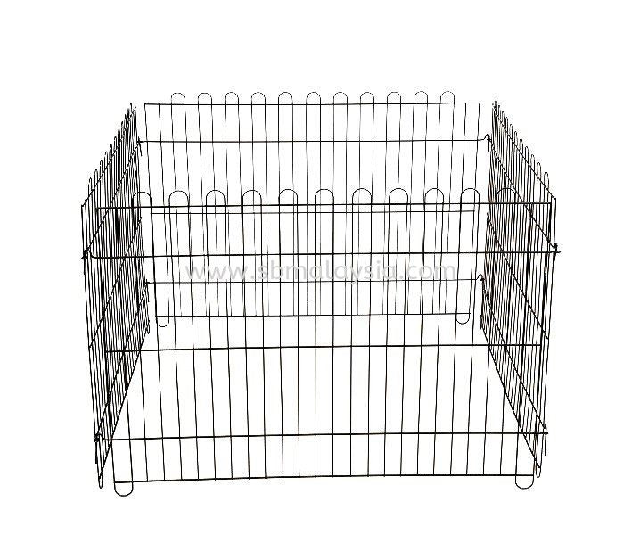 Playpen Fence Metallic Black