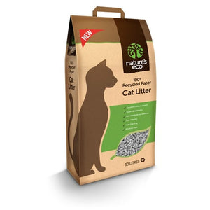 Nature's Eco Cat Litter (30l)