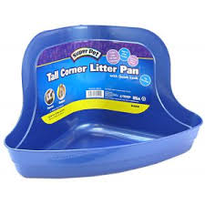 Super Pet Tall Corner Litter Pan