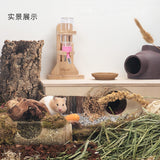 Niteangel Hamster Water Bottle with Wooden Stand (120ml)
