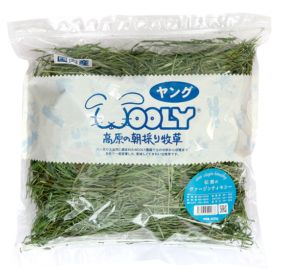 Wooly Hay Japan Virgin Timothy (400g)