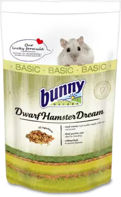 Bunny Nature Dwarf Hamster Dream Basic (600g)