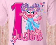 Load image into Gallery viewer, Abby Cadabby - Birthday T-shirt
