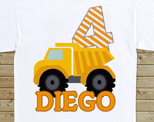 Construction - Birthday T-shirt