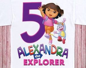 Dora the Explorer - Birthday T-shirt