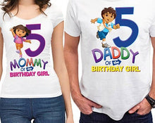Load image into Gallery viewer, Dora the Explorer - Birthday T-shirt