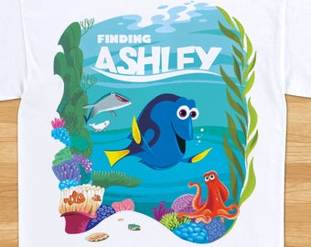 Finding Dory - Birthday T-shirt