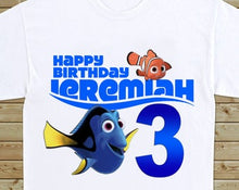 Load image into Gallery viewer, Finding Dory - Birthday T-shirt