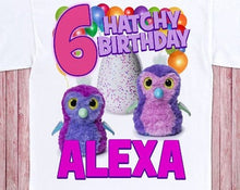 Load image into Gallery viewer, Hatchimals - Birthday T-shirt