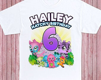 Hatchimals - Birthday T-shirt