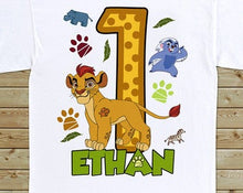Load image into Gallery viewer, Lion Guard - Birthday T-shirt