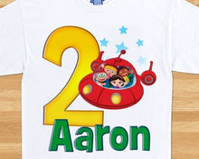 Load image into Gallery viewer, Little Einsteins - Birthday T-shirt