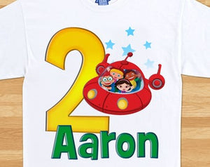 Little Einsteins - Birthday T-shirt