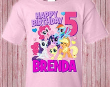 Load image into Gallery viewer, My Little Pony - Birthday T-shirt