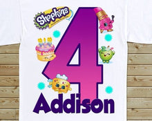 Load image into Gallery viewer, Shopkins - Birthday T-shirt