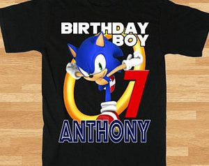 Sonic the Hedgehog - Birthday T-shirt