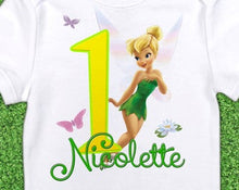 Load image into Gallery viewer, Tinkerbell - Birthday T-shirt