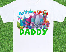 Load image into Gallery viewer, Trolls - Birthday T-shirt