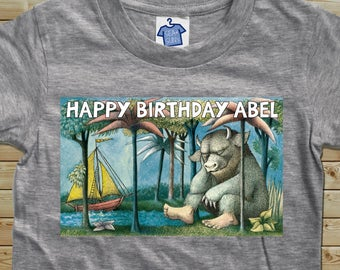 Where the Wild Things Are - Birthday T-shirt