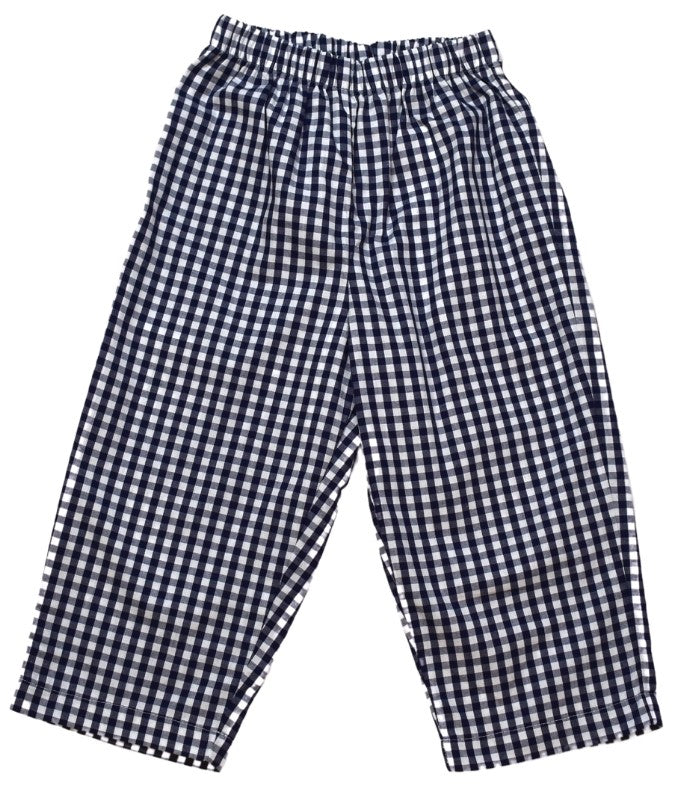 William Pant - Navy Check - Perfect Day to Play