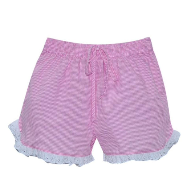 Bailey Short - Pink Gingham