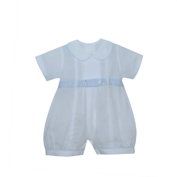 Bennett Bubble - White/Blue